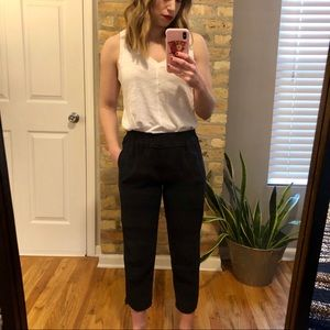 J Crew High Rise Navy Pants